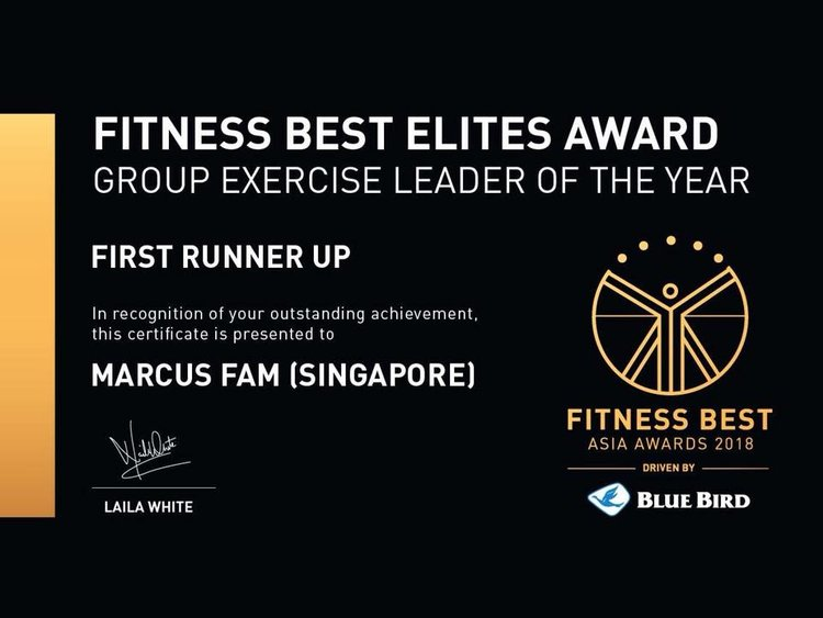 Fitness Best Asia Awards 2018  - Group Exercise Leader of the Year