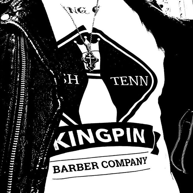 """""""Be Your Own"""" #kingpinbarberco #nashville #independent #pinhead"""