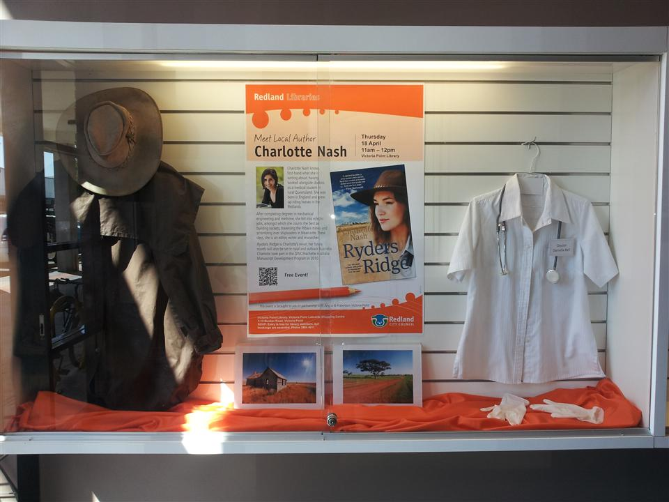 The impressive display for Ryders Ridge in the Vicky Point Library foyer :)