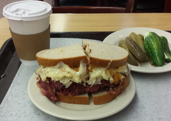 Reuben, the go-all-day sandwich