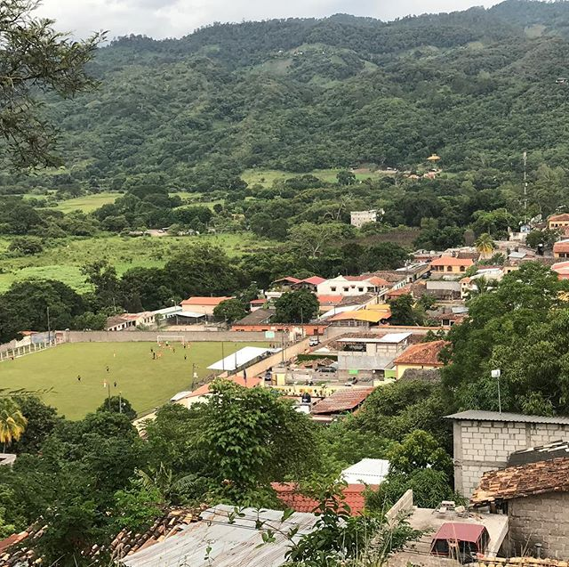 Soccer morning rules! #copan #honduras #hostel #soccer #morning