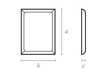 Rectangle Chamfered Block