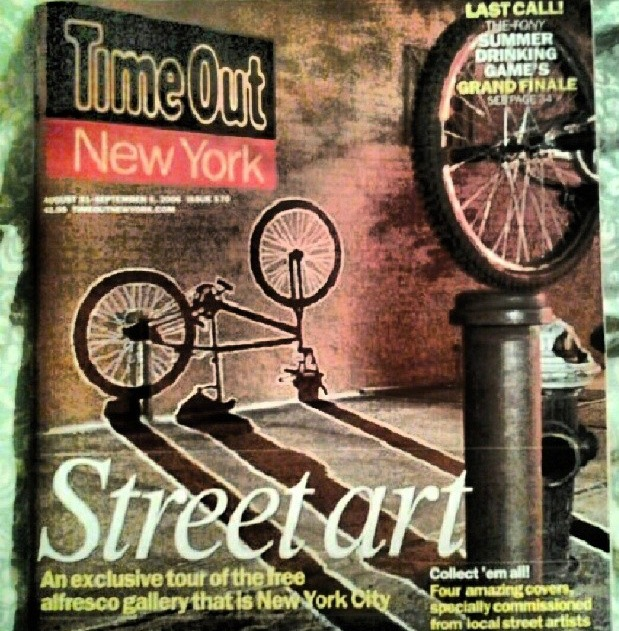 Time Out NYC Cover