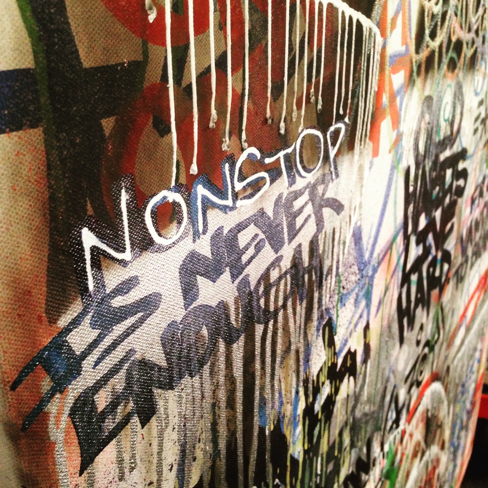 """Nonstop is never enough."""
