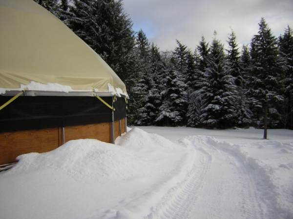 Whatever type structure you build, make sure it complies with regulations for snow load and wind speed in your area. Large structures without center support need to be engineered more carefully than other type structures.