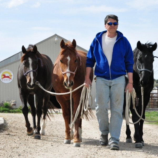 Matt leading our horses April 2015 (92).JPG