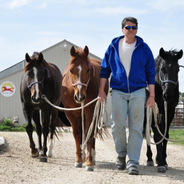 Matt leading our horses April 2015 (92).JPG