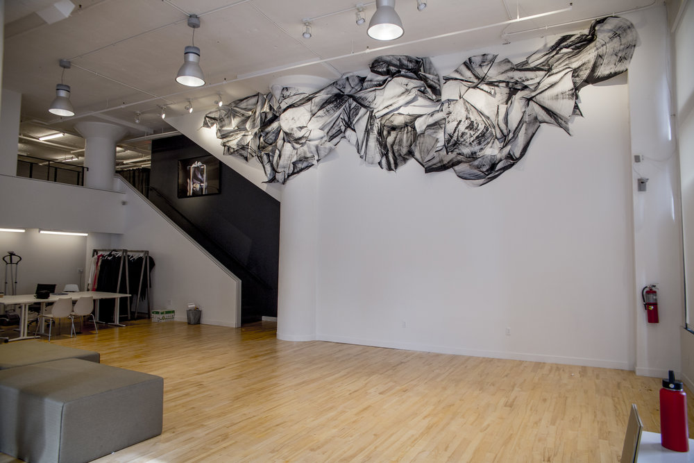 Custom Installation at the St. Louis Fashion Incubator