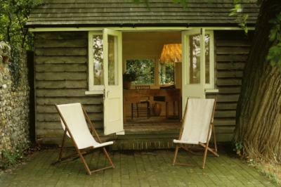 Virginia Woolf's Writing Lodge, Monk's House, Sussex