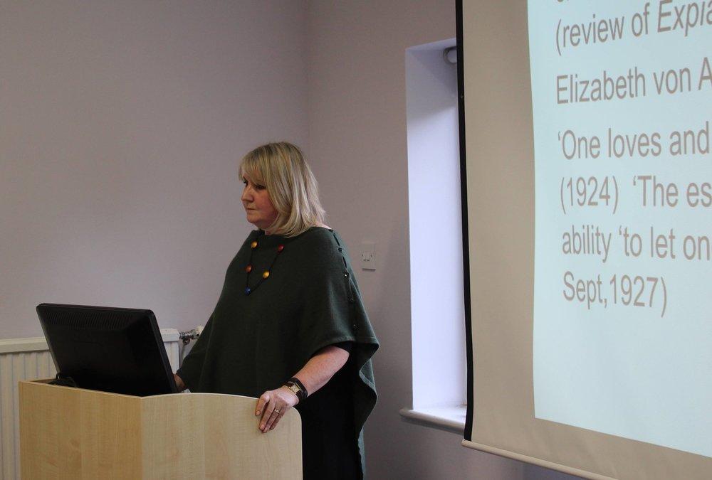 Isobel Maddison's talk, January 2019