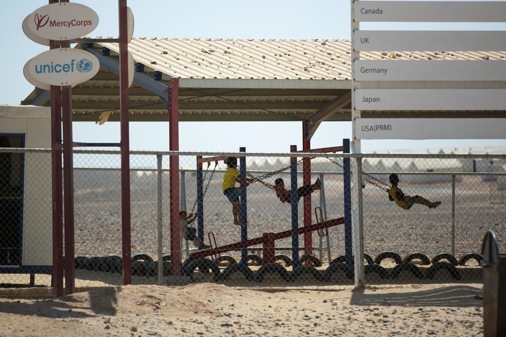 Azraq Refugee Camp