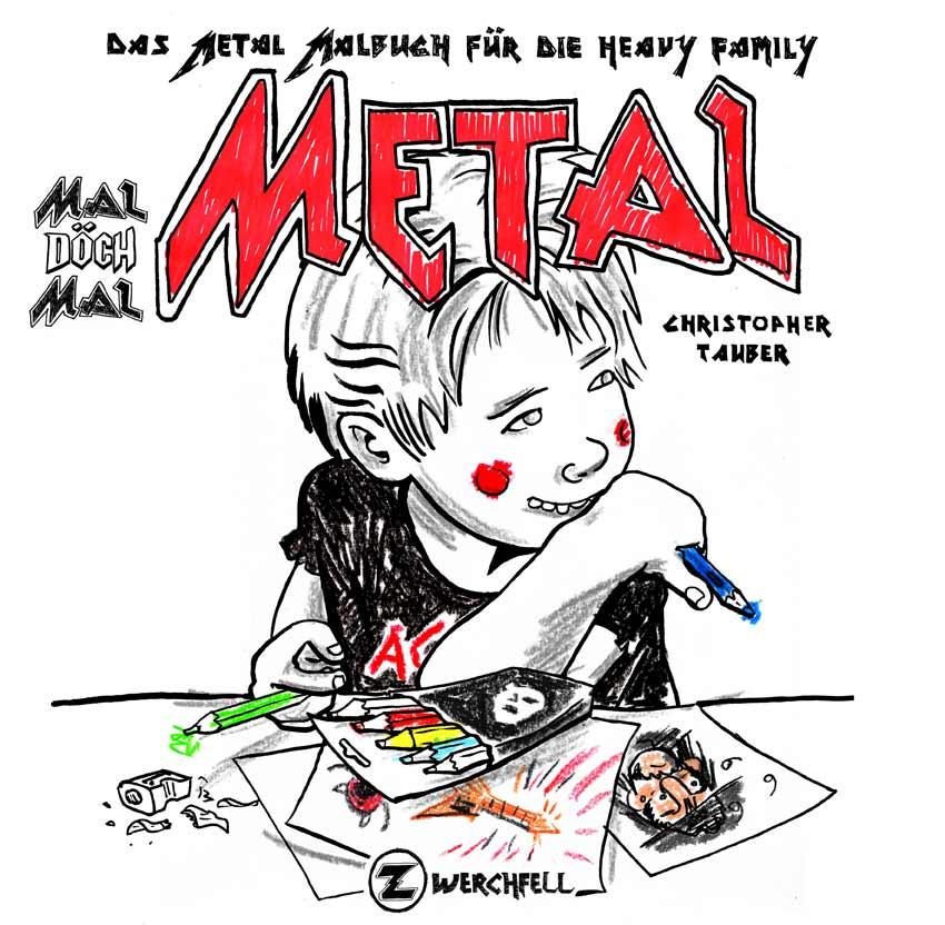Metal Coloring Book — Piwimonium