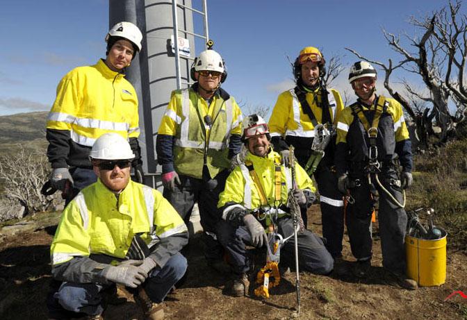 Doppelmayr Australia's technical crew