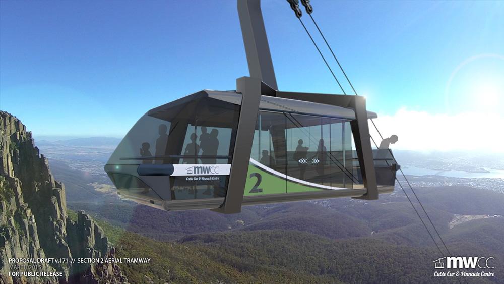 MWCC 'Skytram' preliminary design
