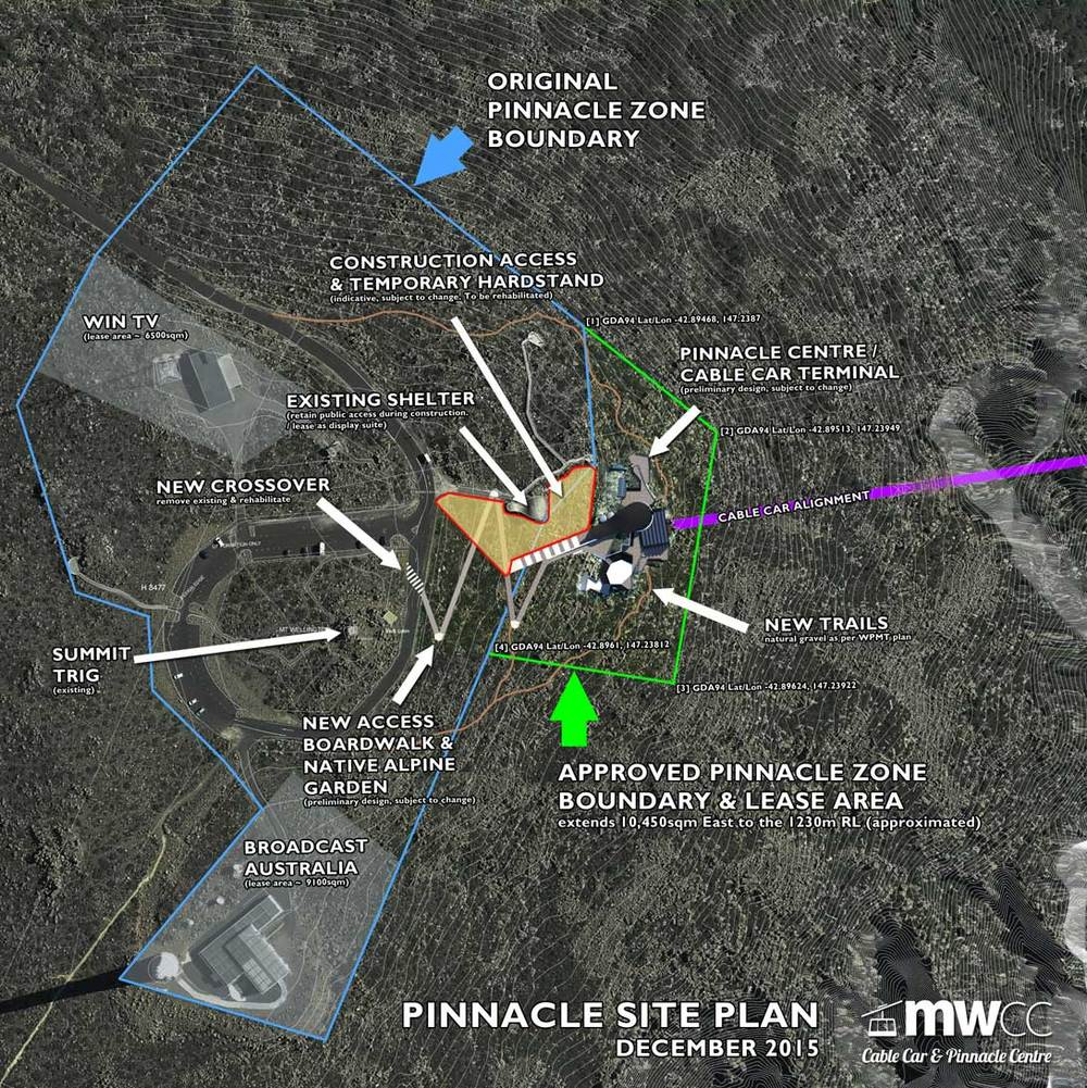 PINNACLE CENTRE SITE PLAN  (Click to enlarge)