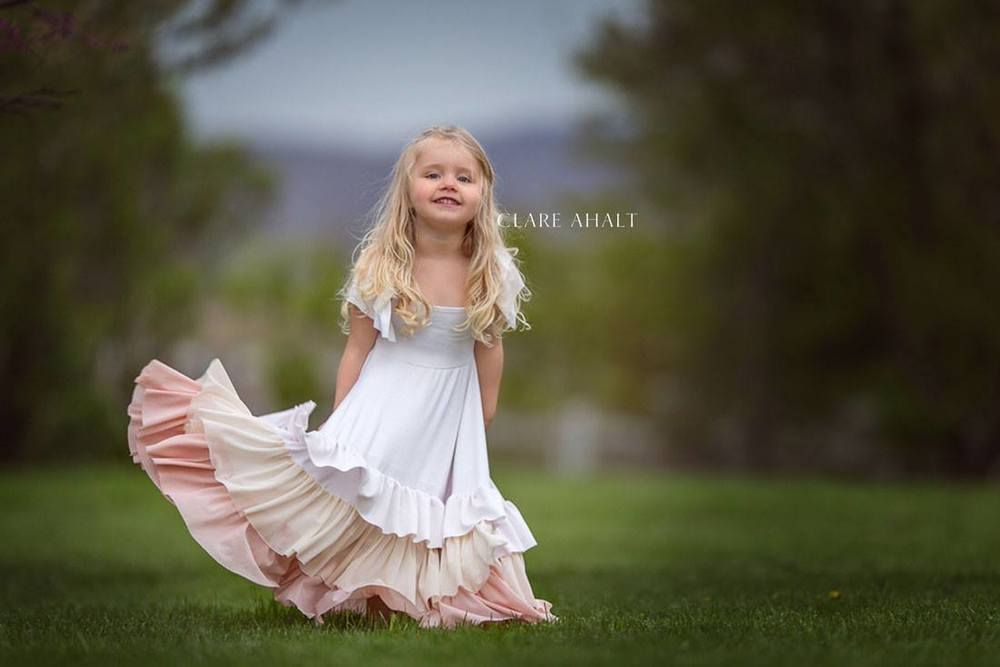portrait of a little girl. Photographed in Maryland by Clare Ahalt Photography, a fine art photographer specializing in fine art child portraiture and high school senior portraits