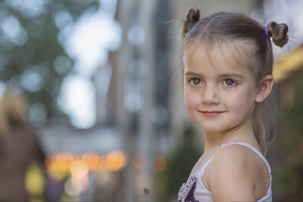 child Photographer in Frederick MD by the weinberg center in downtown frederick md