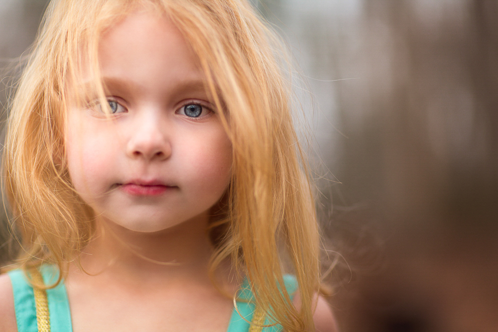 portrait of a little girl photographed in Maryland by Clare Ahalt Photography, a fine art photographer specializing in fine art child portraiture and high school senior portraits