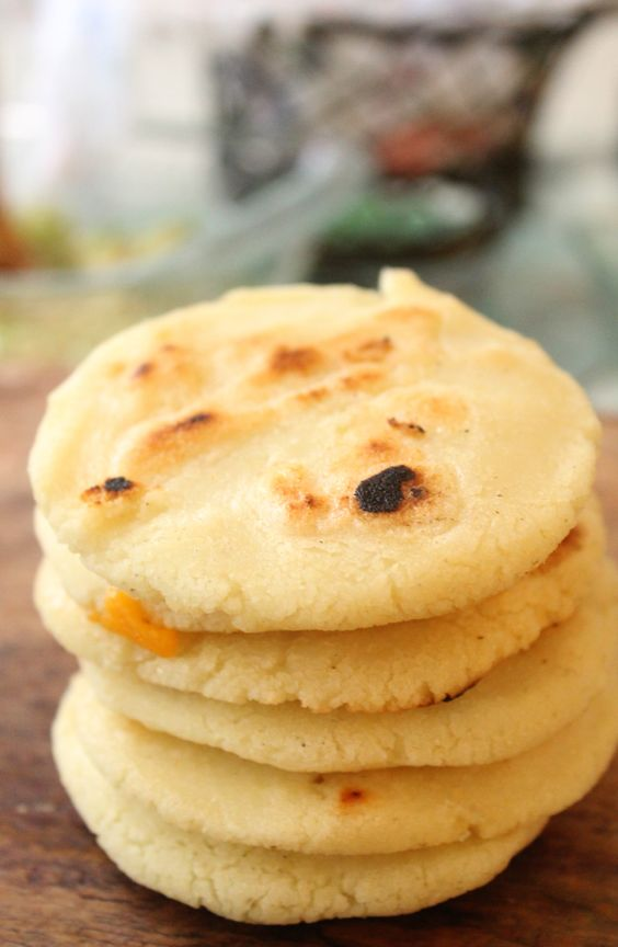 """F*ck bread.  There's a saying, """"She's more Venezuelan than an arepa."""" I'd take that as a compliment."""