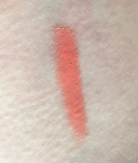 DermStore Lip Quench Sheer Tint in Coral Sunset swatch