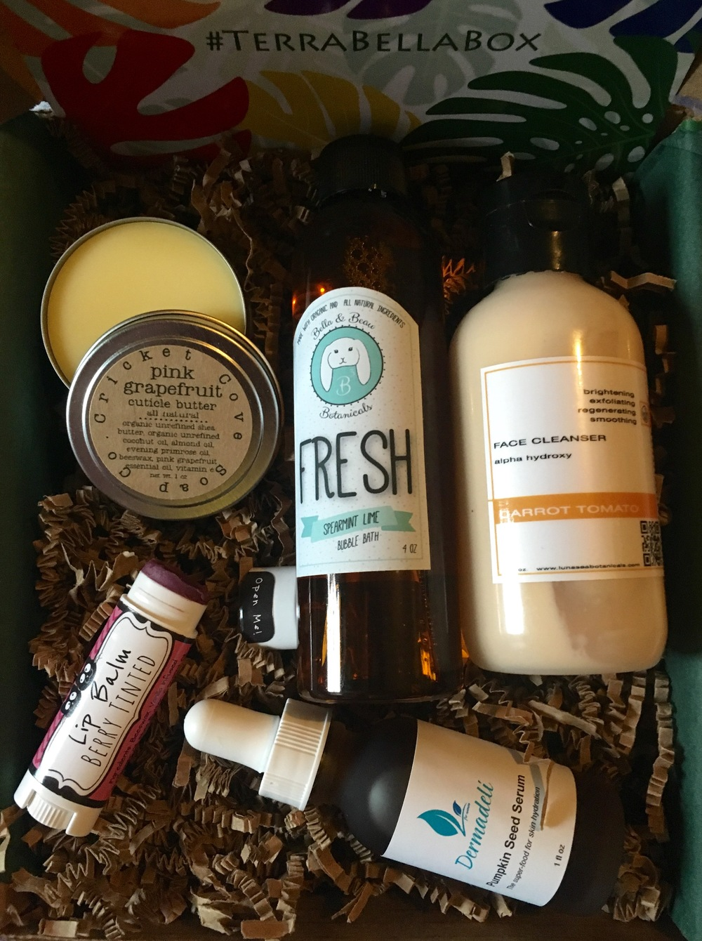 Terra Bella Box, March 2016