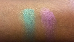 Hikari Cosmetics Cream Pigment Eyeshadow in Glam (left) and Cosmic (right)