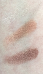 Pacifica Natural Mineral Coconut Eye Shadow Trio in Skinny Dip (top), Lovely (middle), Crush (bottom)
