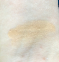 Swatch of Marcelle BB Cream Golden Glow