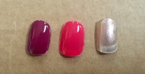Julep Nail Color in Rayma (left), Drew (middle), Wilma (right)