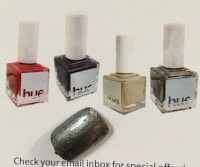 Nail swatch of SquareHue Nail Polish in Hurricane 11.15