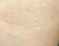 Swatch of Lauren Brooke Cosmetiques Luminous Face Highlighter in Glow (Neutral)