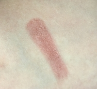 Swatch of Clinique Almost Lipstick in Black Honey