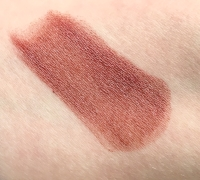 Swatch of Jersey Shore Cosmetics Lip and Cheek Rouge in Baccara Rose