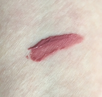 Swatch of NARS Velvet Lip Glide in Bound
