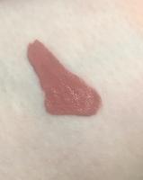 Swatch of tarte cosmetics tarteist Quick Dry Matte Lip Paint in Delish