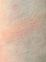 Swatch of OFRA Cosmetics Pressed Blush in Peach