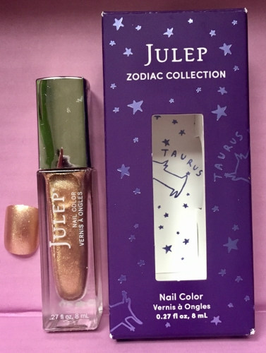 Julep Nail Color and swatch in Tranquil Taurus