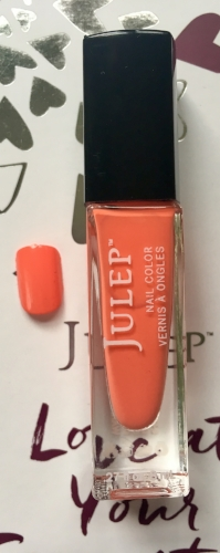Julep Nail Color and swatch in Jenna