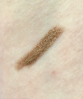 Swatch of tarte cosmetics smolderEYES Amazonian Clay Waterproof Liner in Gold