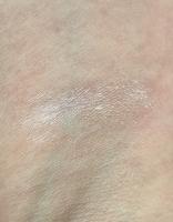 Swatch of MAC Cosmetics Strobe Cream in Pinklite