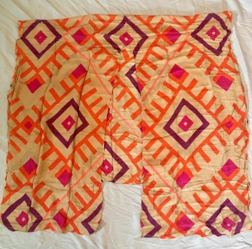 Michael Stars Tile Inspired Print Convertible Ruana