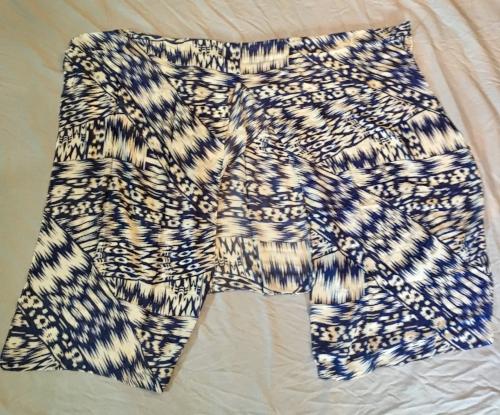 Michael Stars Batik Print Convertible Ruana
