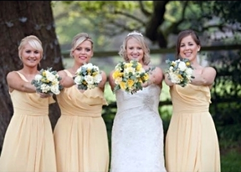 Bride Laura & her Wattersmaids