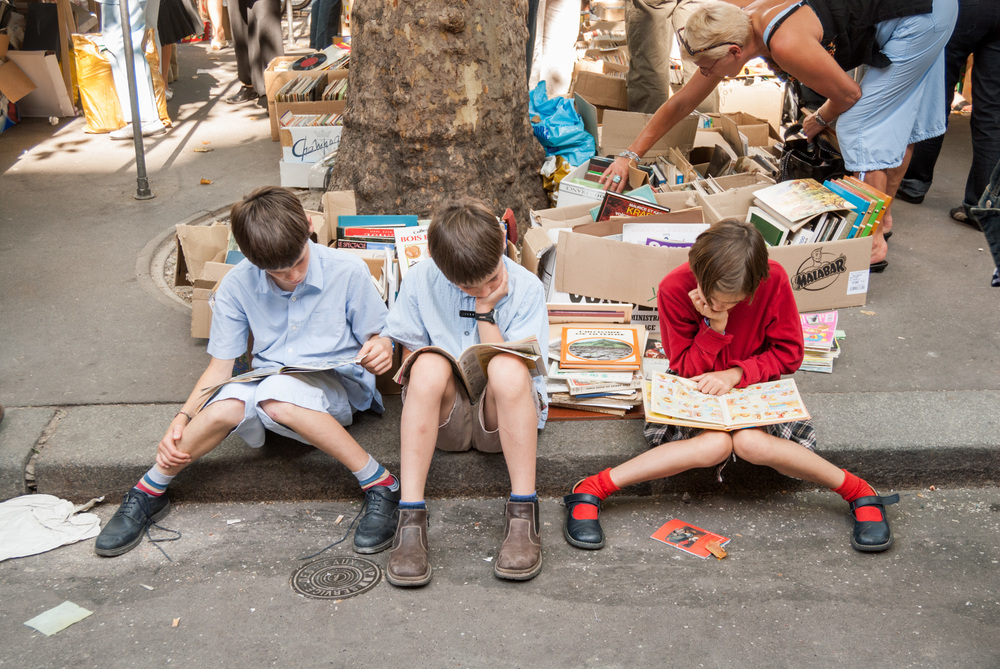 Book market, Paris