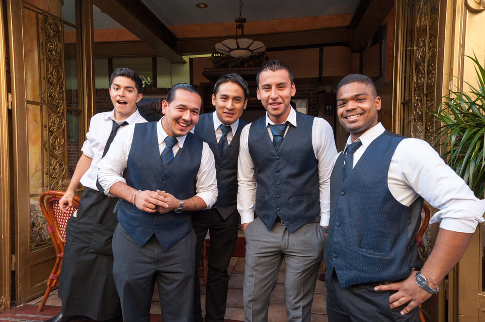 Waiters, Little Italy, New York