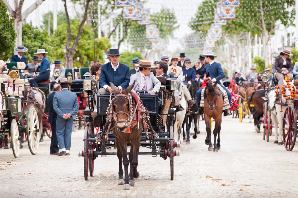 Seville April Fair, Spain