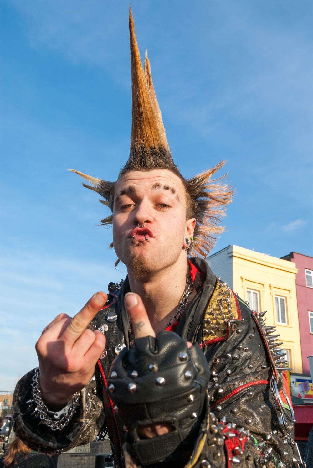 Punk, Camden Town, London