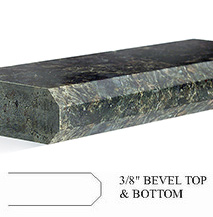 Countertop Bevel Types : Choose from our selection of countertop edges to add style to your ...