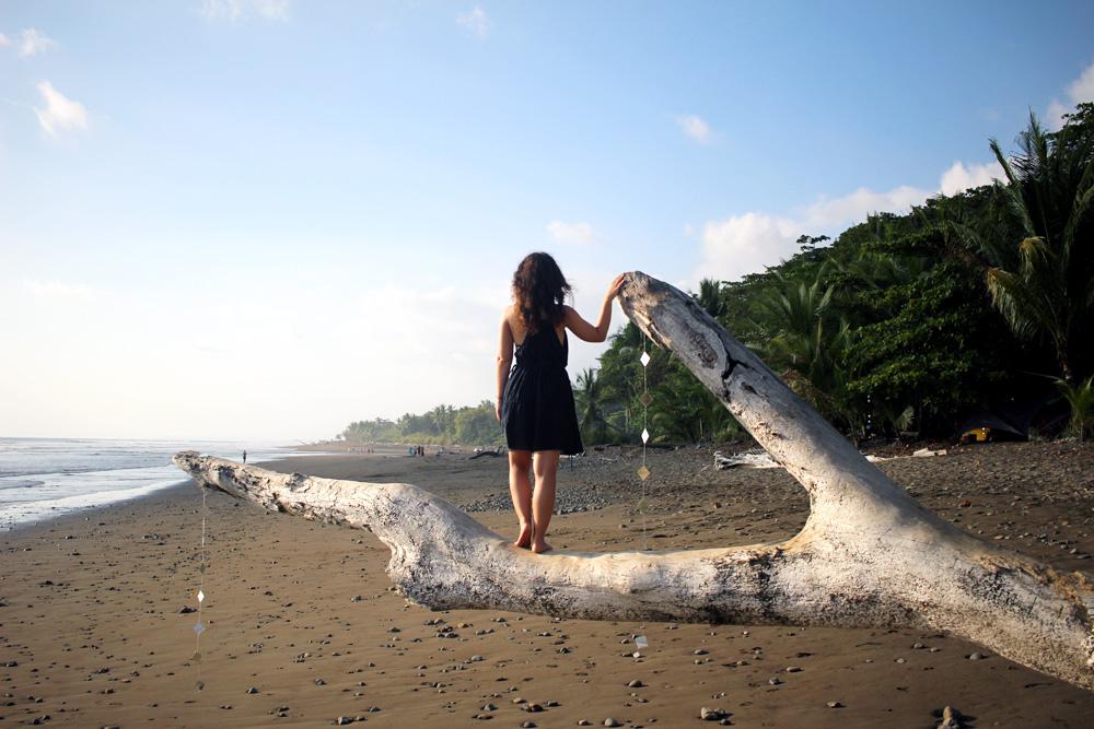 Tohle už je teda naše pláž v Dominicalu, ale líbilo se mi to sem!