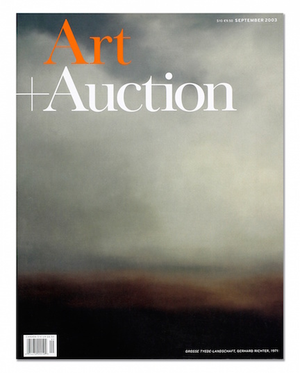 Art and Auction   (Louise Blouin Media)   ,      New York, circ. 60,000  5/03  –  8/03 Editorial Intern